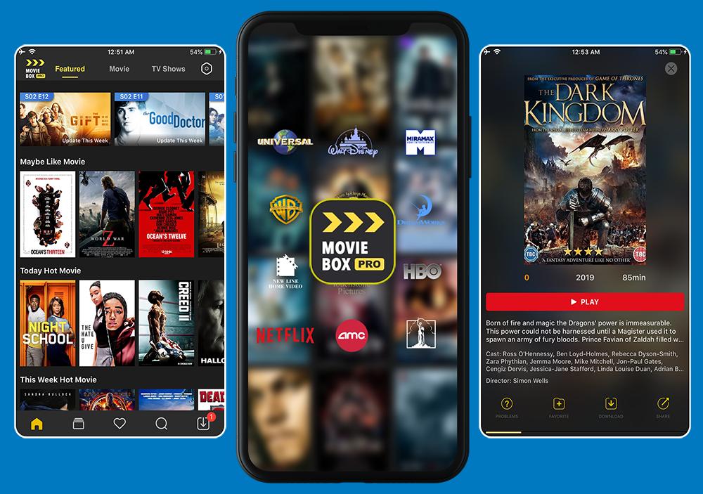 MovieBox Pro App Download Online & Offline