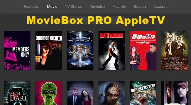 movie box pro apple tv