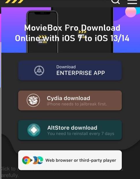 MovieBox Pro Online